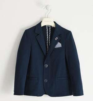 Milano stitch jacket BLUE