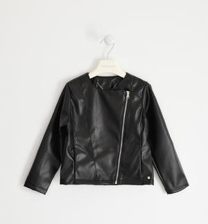 Biker model jacket for girl