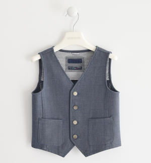 Vest in particular and soft stretch fabric GREY