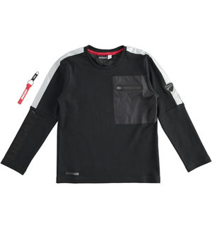 "100% cotton round neck with pocket ""Sarabanda interprets Ducati"" BLACK"