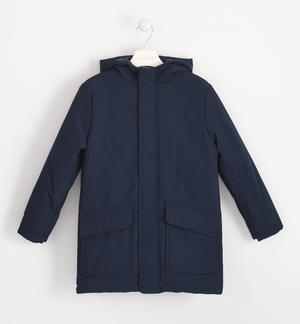 Technical fabric outerwear BLUE
