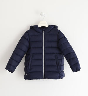 Real goose down jacket BLUE
