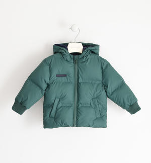 Winter jacket with heat-sealed chambers GREEN