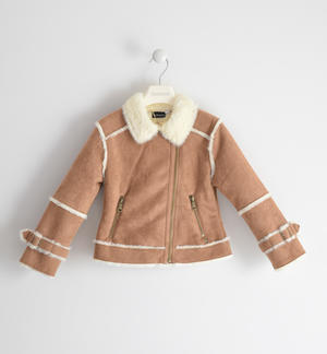 Sherling model jacket for girl