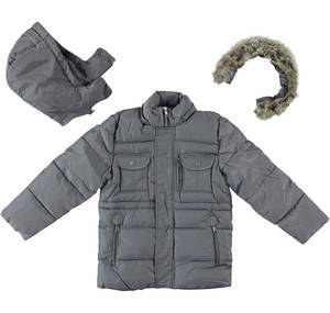 Multi-pocket jacket with cotton padding - Sarabanda fashionable and comfortable clothes for 0-16 year old kids