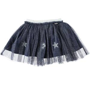 Gonna in tulle lurex per bambina