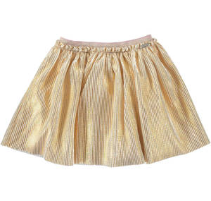 Lurex tulle skirt YELLOW
