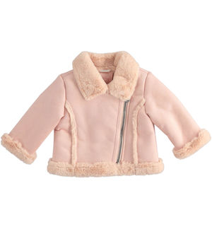 Pretty biker jacket for newborn girl
