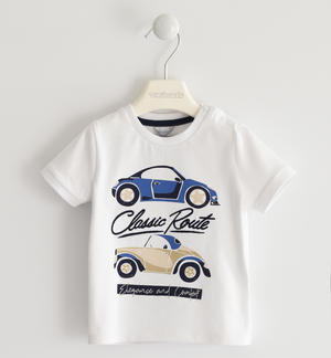 Pretty stretch jersey t-shirt with cars
