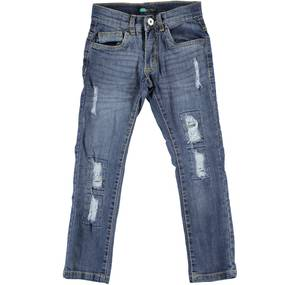 Lively stone washed slim fit jeans BLUE