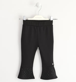 Sarabanda leggings made in Milano stitch BLACK