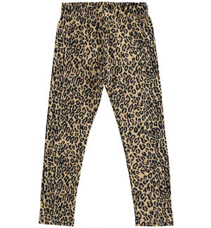 Leggings fantasia animalier BEIGE