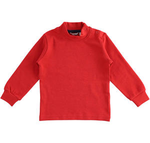 Cotton turtle neck RED