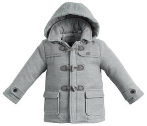 Soft and warn Montgomery coat GREY