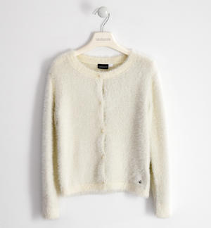 Very soft lurex tricot outerwear