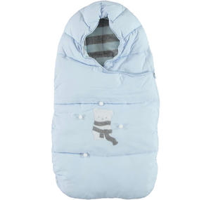 Carrycot and stroller sleep sack  LIGHT BLUE