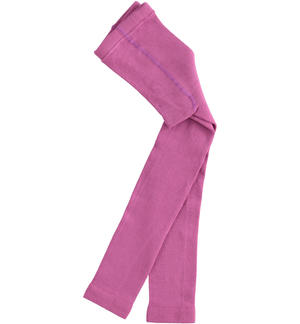 Pantyhose made of cotton FUCHSIA