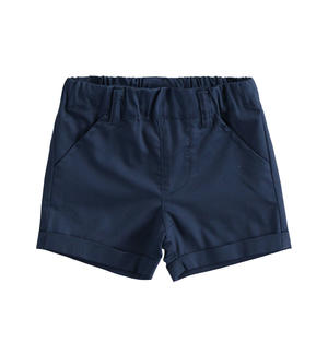 Short 100% cotton baby boy shorts BLUE