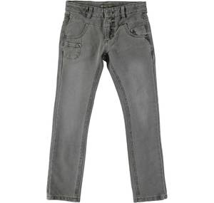 Fleece trousers with a hot finish for boys GREY