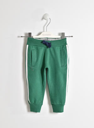 KNITTED TROUSERS GREEN