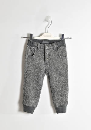 Brushed fleece trousers  GREY