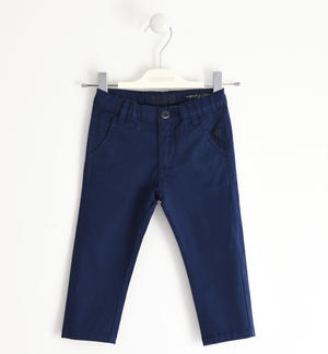 Stretch twill trousers BLUE
