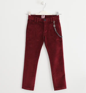 Trousers made of corduroy PINK
