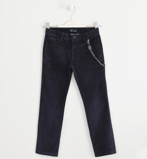 Trousers made of corduroy BLUE