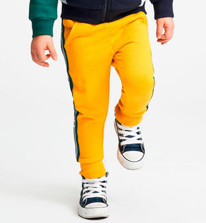 100% cotton long trousers YELLOW