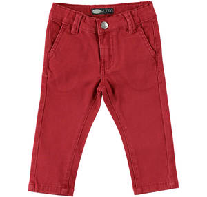 Chino trousers RED