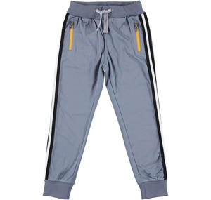 Tracksuit bottoms in acetate fabric  GREY