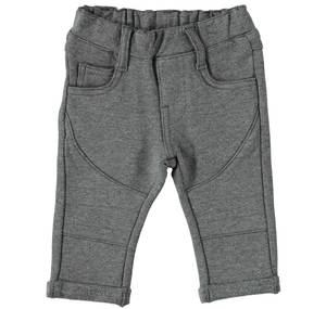 KNITTED TROUSERS GREY