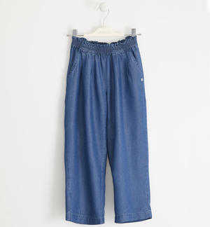 Special lyocell trousers BLUE