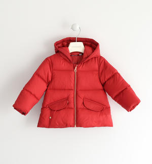 Real goose padded down jacket RED