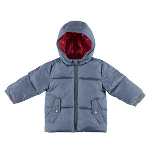 Goose down jacket with windproof cuffs GREY