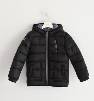 Sarabanda nylon winter down jacket BLACK
