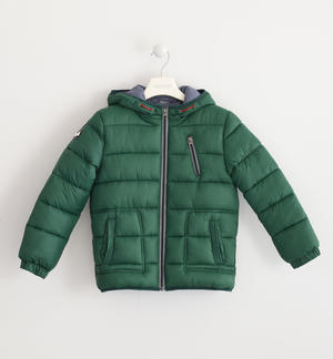Sarabanda nylon winter down jacket GREEN