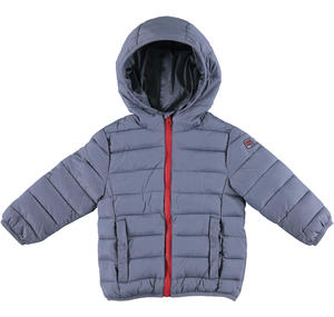 100 grams padded down jacket with hood  GREY