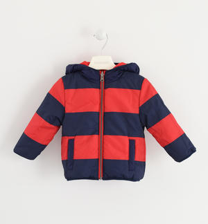Outwear a reversible down jacket BLUE