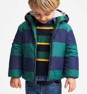 Outwear a reversible down jacket GREEN