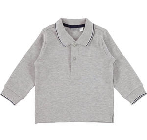 Polo shirt with embroidered logo  GREY
