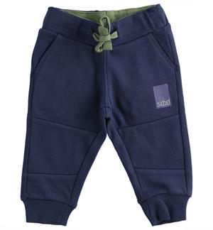 Practical trousers in brushed fleece