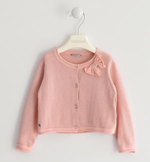 Outerwear made in winter tricot with lurex thread PINK