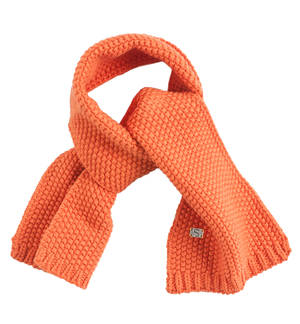 Knitted scarf ORANGE