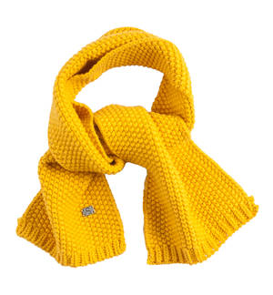Knitted scarf YELLOW