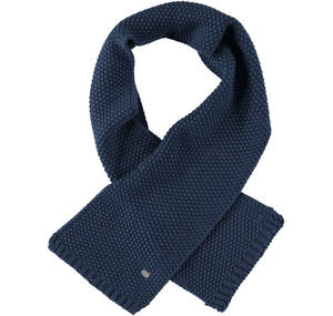 Knitted scarf BLUE