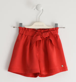 Shorts with «Bermuda» fit RED