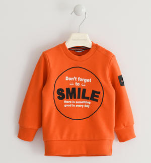 Gritty and nice Sarabanda crewneck sweatshirt ORANGE