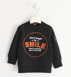 Gritty and nice Sarabanda crewneck sweatshirt BLACK