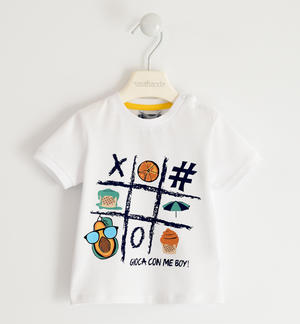 "Nice ""Play with me"" t-shirt 100% cotton"